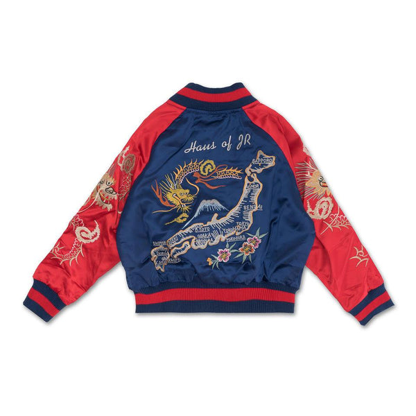 Wyatt Souvenir Jacket (Navy)