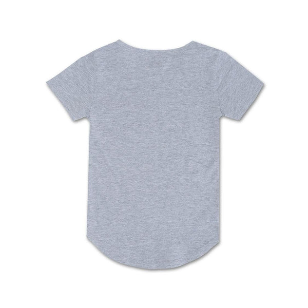 Preston Elongated Tee (Grey) - Haus of JR