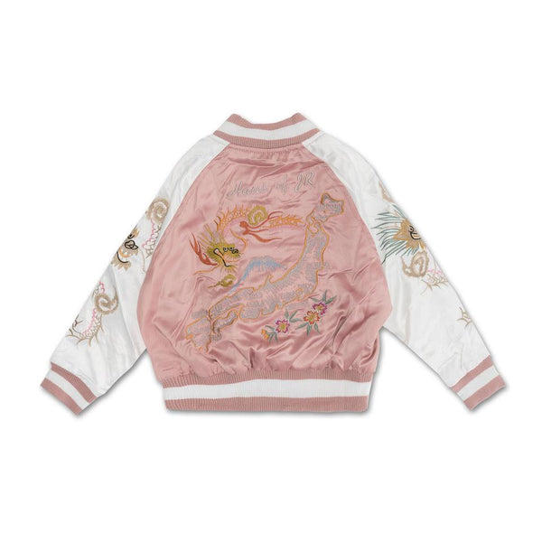 Wyatt Souvenir Jacket (Pink) - Haus of JR
