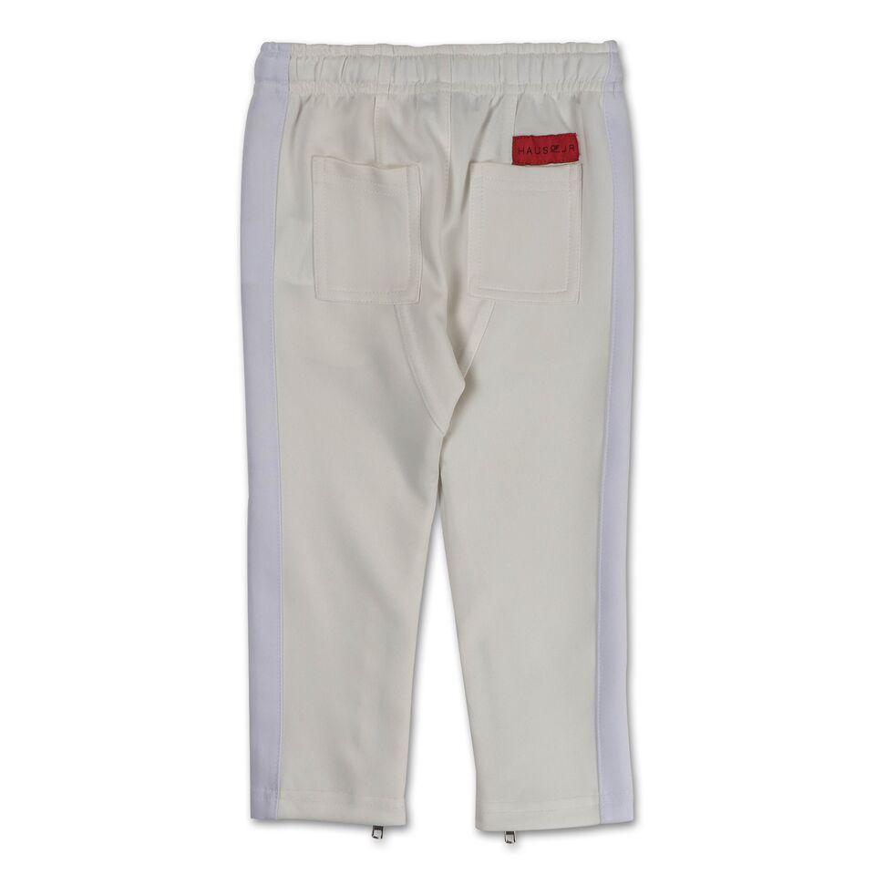 Brody Track Pant (White) - Haus of JR