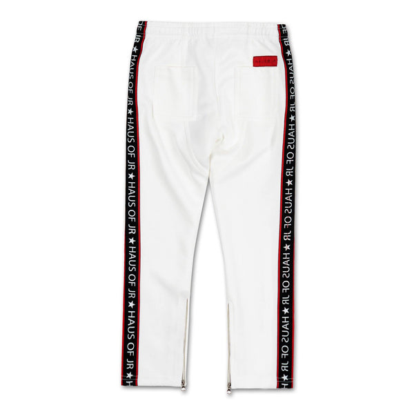 Barneys Track Pant (White) - Haus of JR