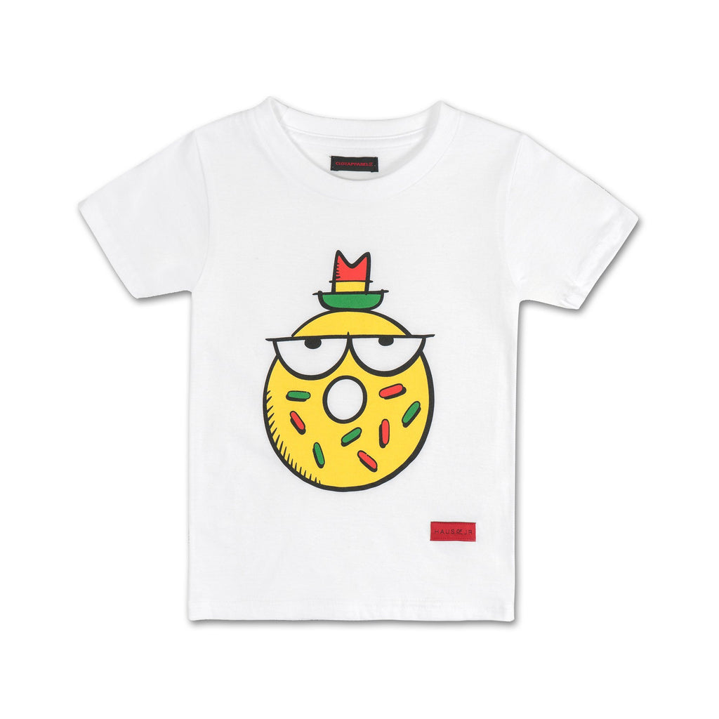KEVIN LYONS X CLOT X HAUS OF JR - Donut Tee red - Haus of JR