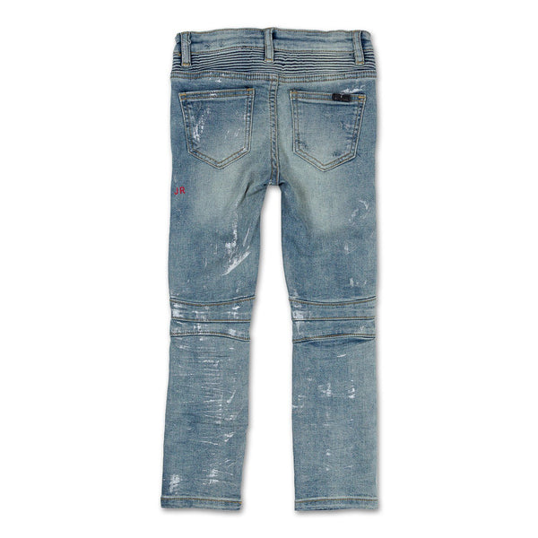 Xavier Biker Denim Bottoms Haus of JR