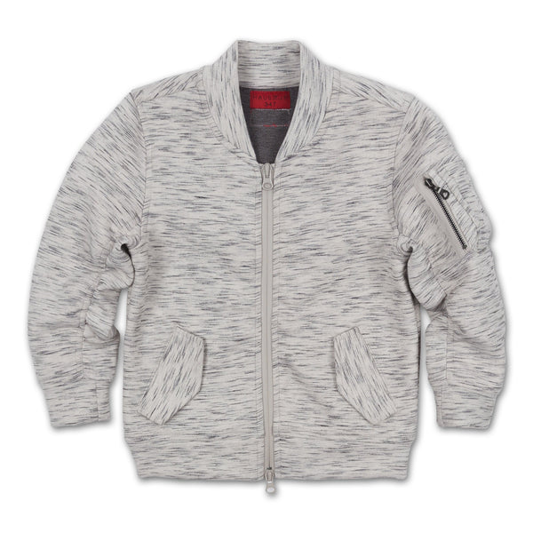 Young Tech Bomber Jacket (Grey)