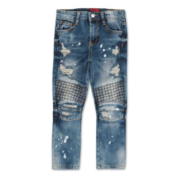 Zanotti Basket Denim (Cloud Wash) - Haus of JR