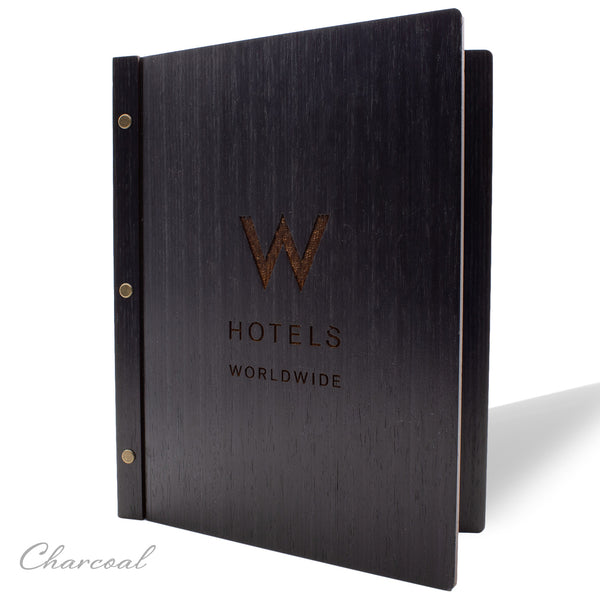 Screw Post Cover for Hotel Directory, In Room Dining, Compendium in Charcoal