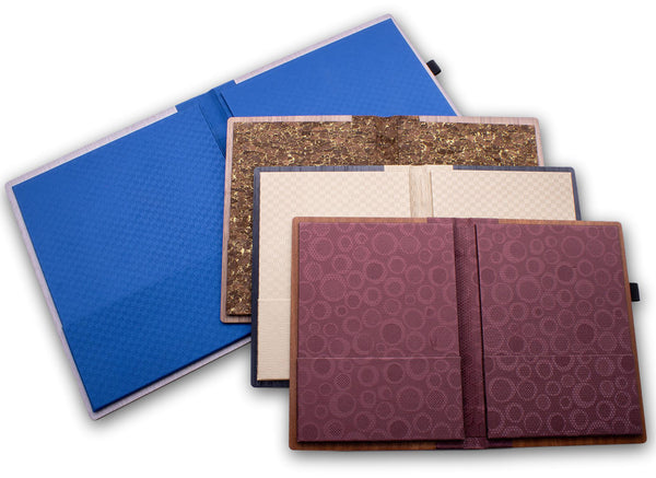 Large selection of binding and insert colors available.