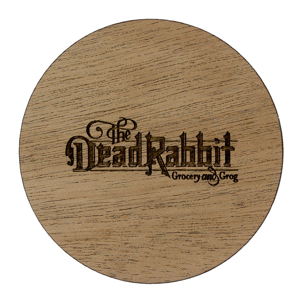 Custom Round Coaster With Cork Base - Woodberry Company