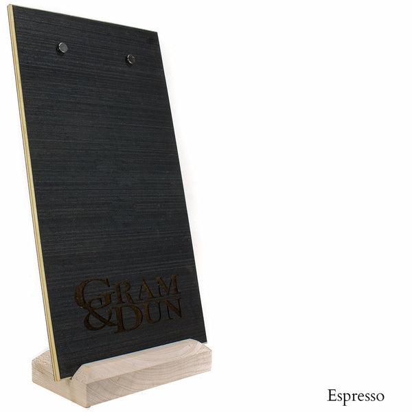 Custom Wood Menu Board With Magnets And Wood Base - Woodberry Company