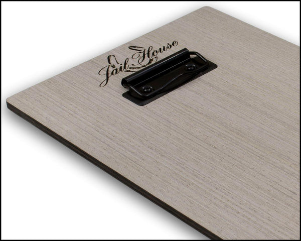 Menu Holder Clipboard With Low Profile Clip - Woodberry Company