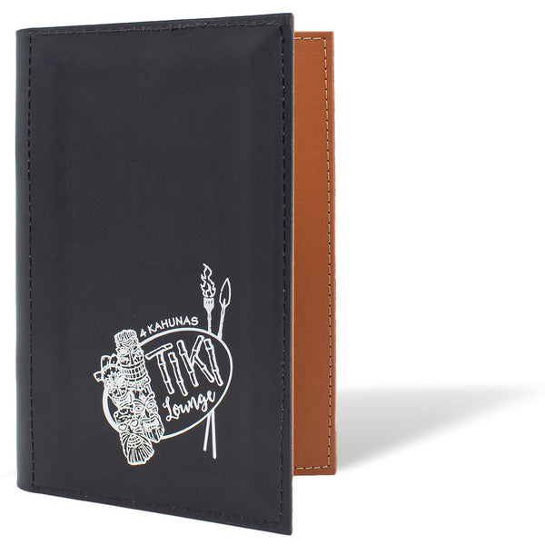 Leather Menu Cover With Binder Ring Mechanism