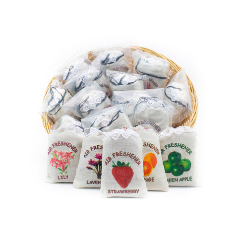 Blunteffects® Cloth bag Airfresheners: 24 PC Display