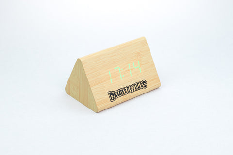 Blunteffects® Wooden Clock
