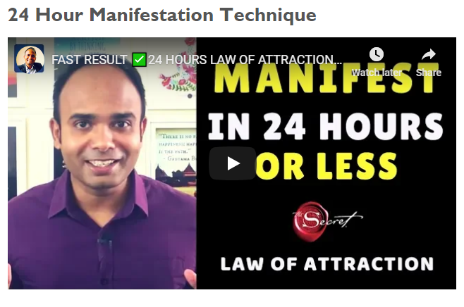 10 Law of Attraction Techniques To Heal Your Life