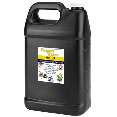 Black Gallon Jugs - 6pH Beauty Water *Special Offer*
