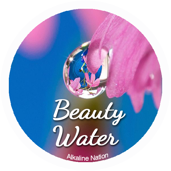 Beautiful Skin - 36 Stickers - (Water Drop - 12 Beauty, 12 Acid, 12 Alkaline)