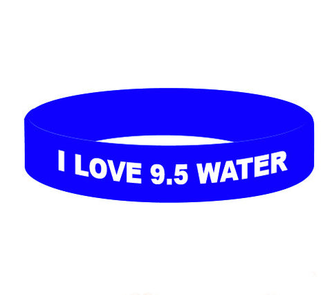 "50 ""I Love 9.5"" Wristbands (50% OFF)"