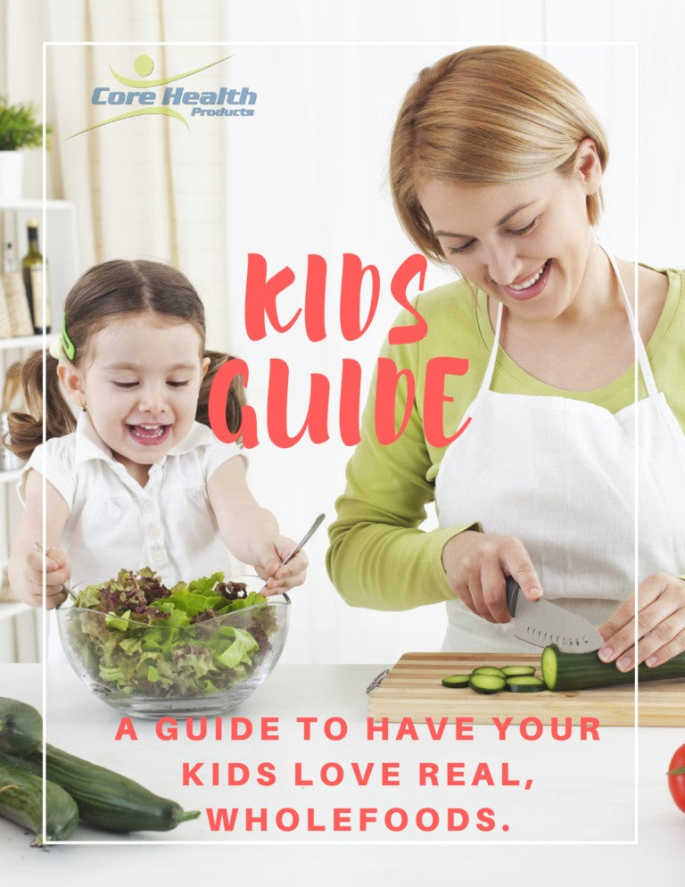 FREE Alkaline Wholefoods Eating Guide for Kids
