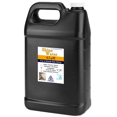 Black Gallon Jugs - 4.5pH Shine Water