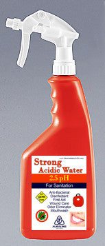 Stong Acid Spray Bottles - 2.5pH