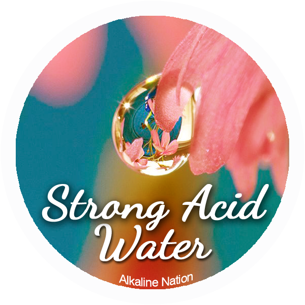 Beautiful Skin - 12 Stickers - (Water Drop - 4 Beauty, 4 Acid, 4 Alkaline)