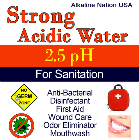Strong Acidic Stickers