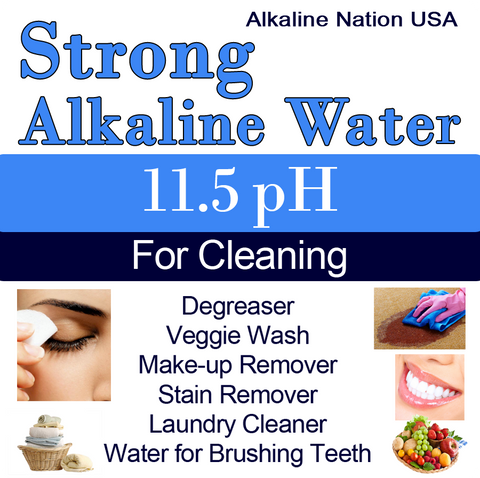 Strong Alkaline Stickers
