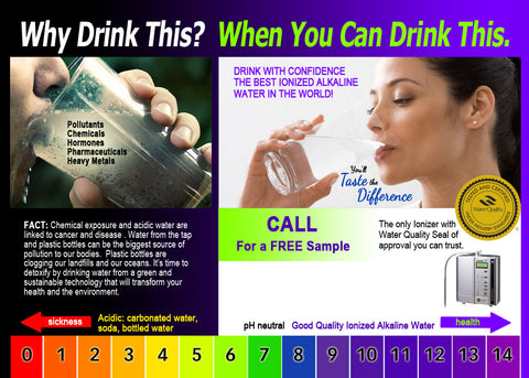 *Special Offer* Why Drink Dirty Water? 5x7 Cards (Buy 3 Packs Get 1 Free) 400 cards