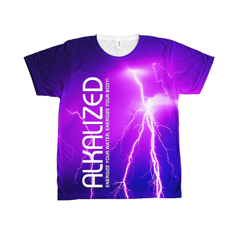 Alkalized Lightning Bolt - Opulent Unisex T-Shirt