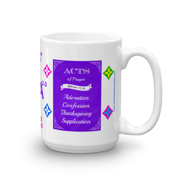 Kangen ACTS Dream Big 6A2-3 Coffee Mug
