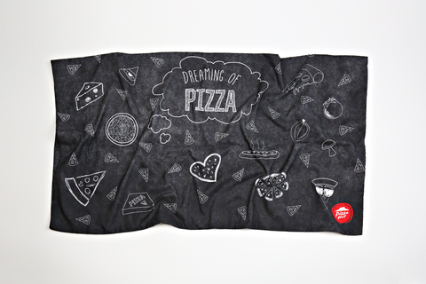 'Dreaming of Pizza' Pillow Case