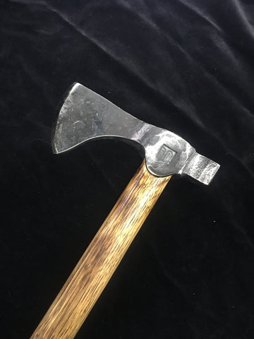 Axe with hammer poll
