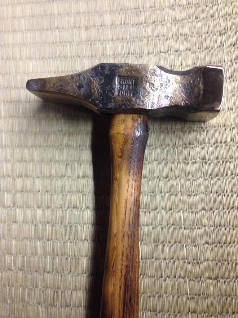 3 pound (1400 gram) blacksmiths cross peen hammer