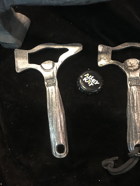 Hammered bottle opener aka Beer Hammer