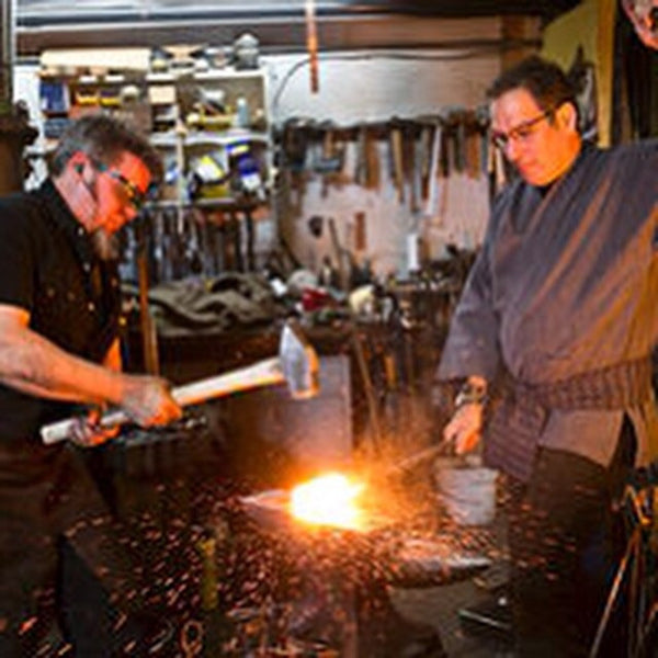 Individual forging lessons with David Goldberg