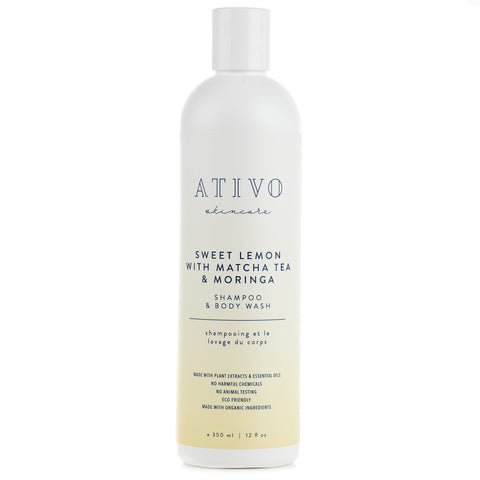 Ativo Skincare Sweet Lemon Shampoo / Body Wash
