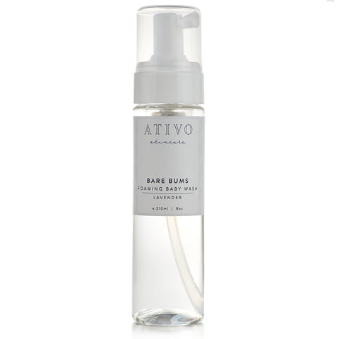 Ativo Skincare Bare Bums Foaming Baby Wash