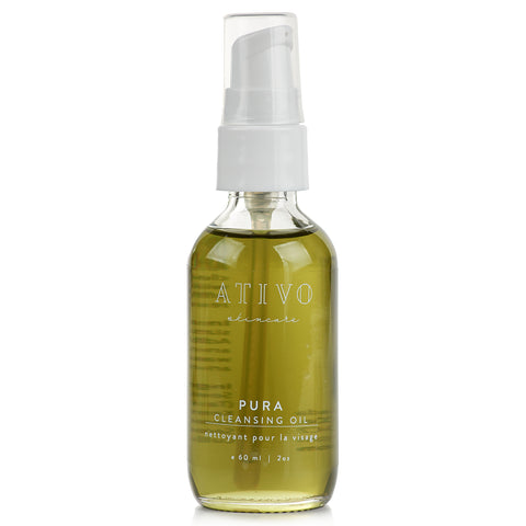 Ativo Skincare Pura Cleansing Oil
