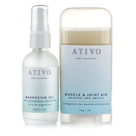 Ativo Magnesium Oil Bundle