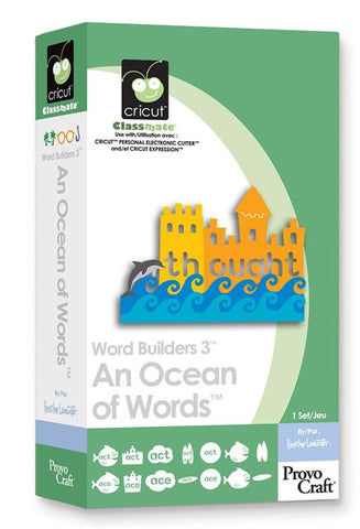 Cricut Cartridge | An Ocean of Words