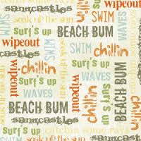BO-BUNNY PRESS | Beachy Keen Words