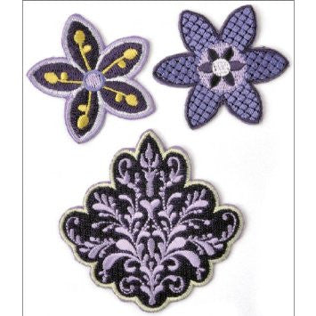 KAISERcraft | Embroidered Badges | Lilac Avenue