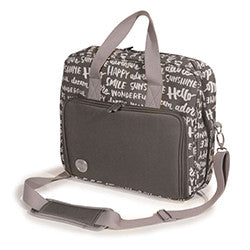 We R | CRAFTER SHOULDER BAG | CHARCOAL