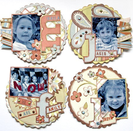 Aussie Scrap Source  | CD Fridge Magnets | Kit 080803