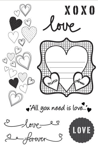 Made With Love | Clear Stamps