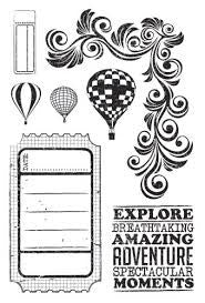 Up, Up and Away | Clear Stamps