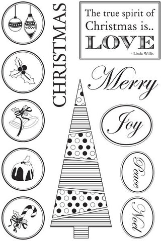 Be Merry | Clear Stamps