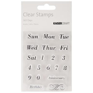 365 Days | Clear Stamps