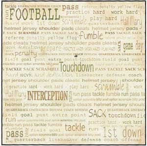 Carolees Creations | Football Words
