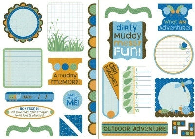 Jungle Bug | Die Cut Elements